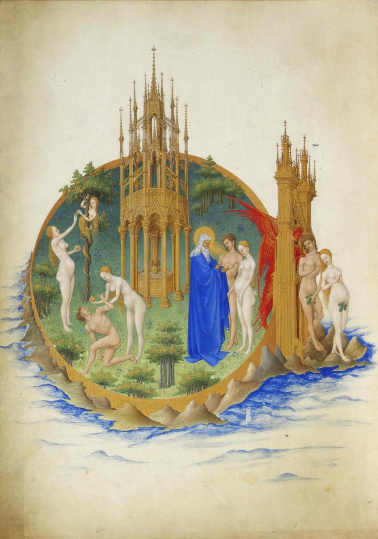 Грехопадение и изгнание из Рая. 1411–1416