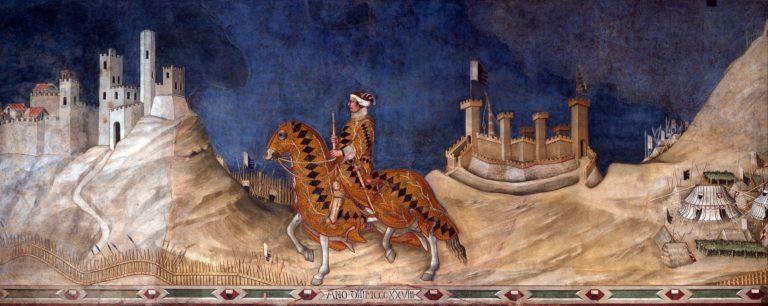 Гвидориччо да Фольяно. Ок. 1330