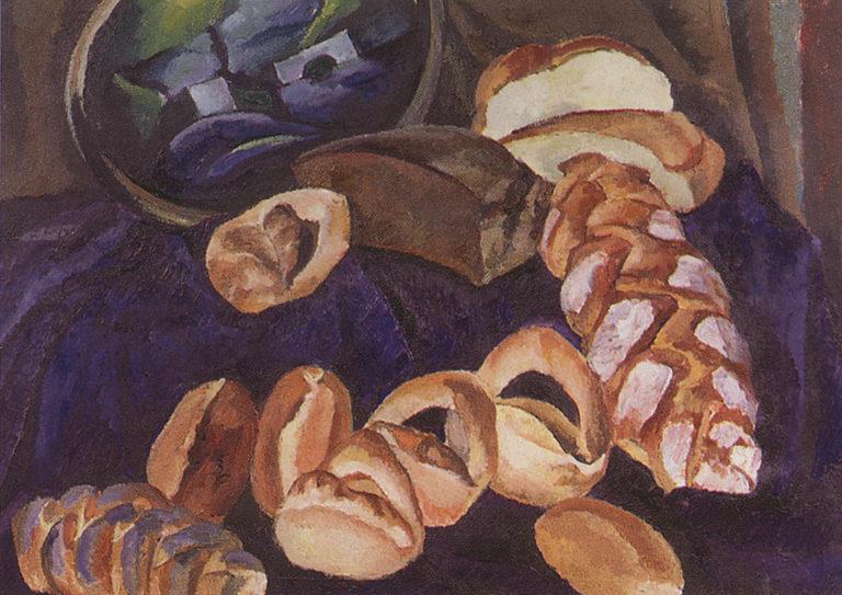 Хлебы на синем. 1913