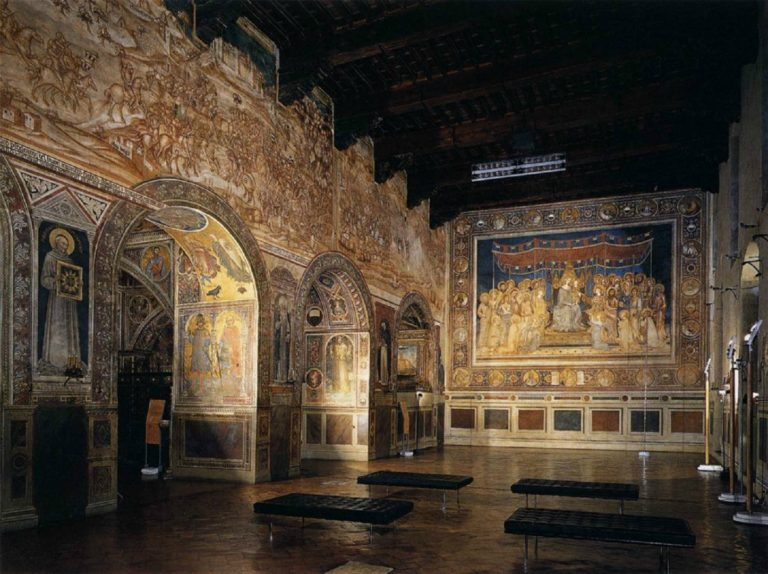 Интерьер Палаццо Публико, Сиена