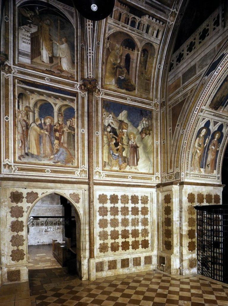 Интерьер капеллы Сан Мартино