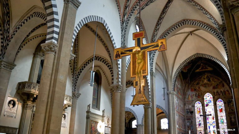 Интерьер церкви Санта Мария Новелла, Флоренция