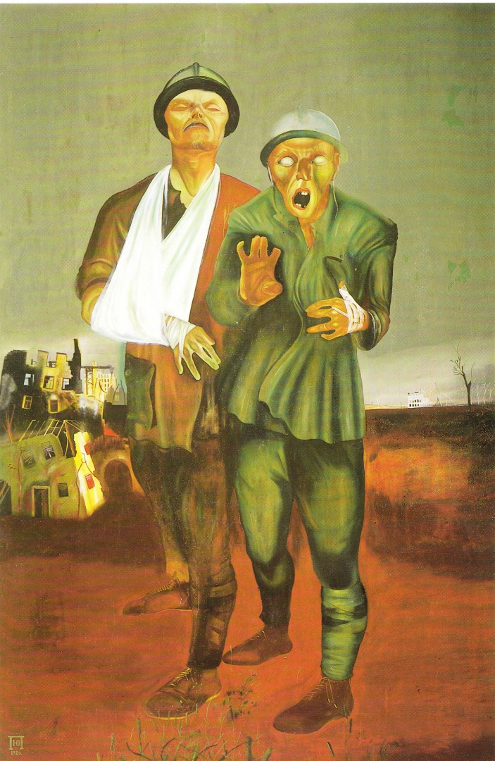 Инвалиды войны. 1926