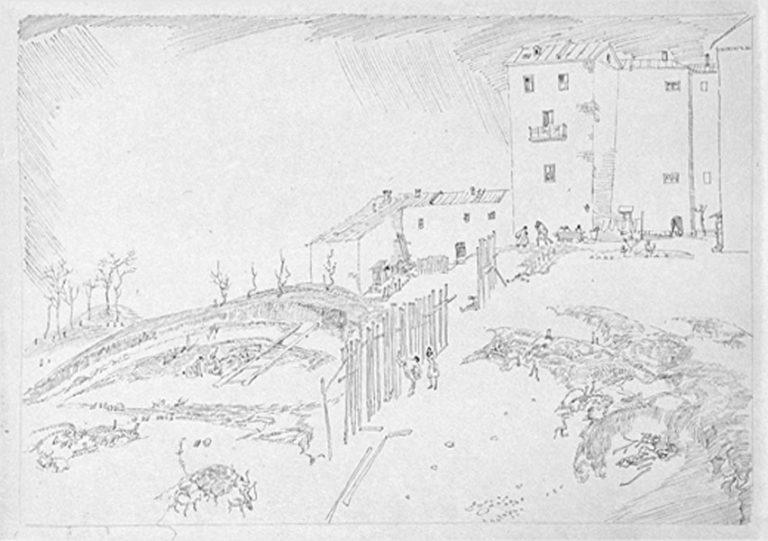 Из лагерных рисунков. 1950–1960-е