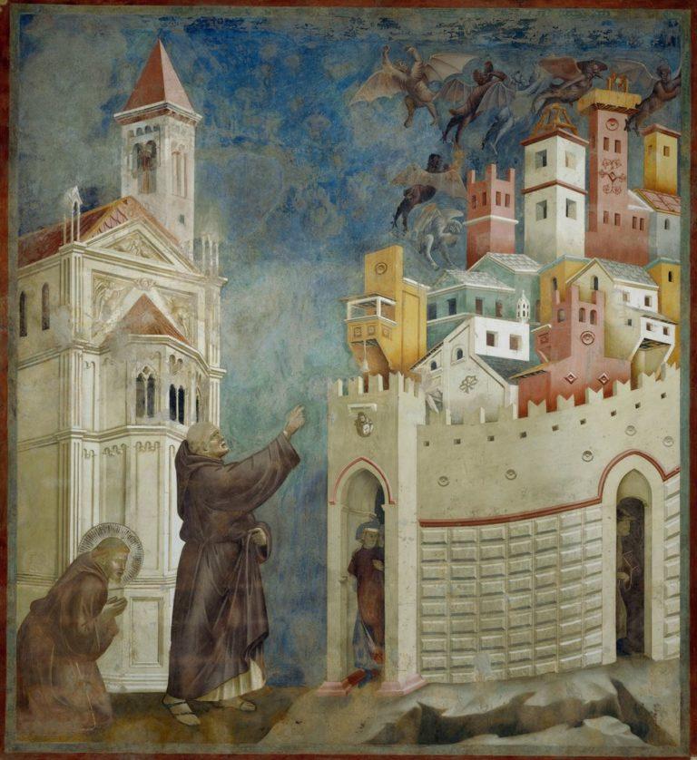Изгнание демонов из Ареццо. Ок. 1296–1304