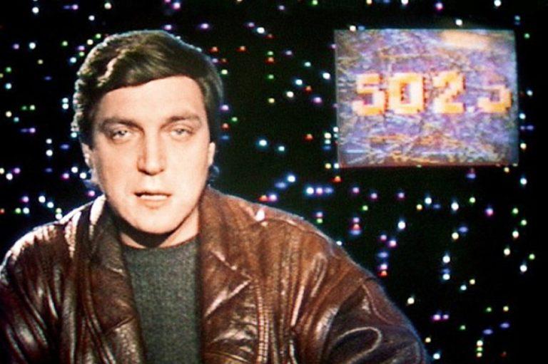 Кадр из телепрограммы «600 секунд». 1989
