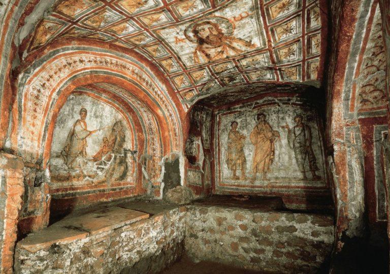 Катакомбы Комодиллы. IV в. Рим