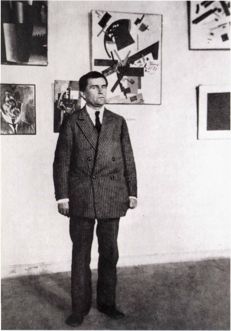 Казимир Северинович Малевич (1879–1935). Петроград, 1924