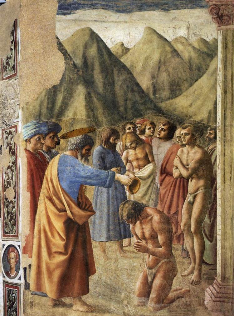 Крещение неофитов. 1425–1426
