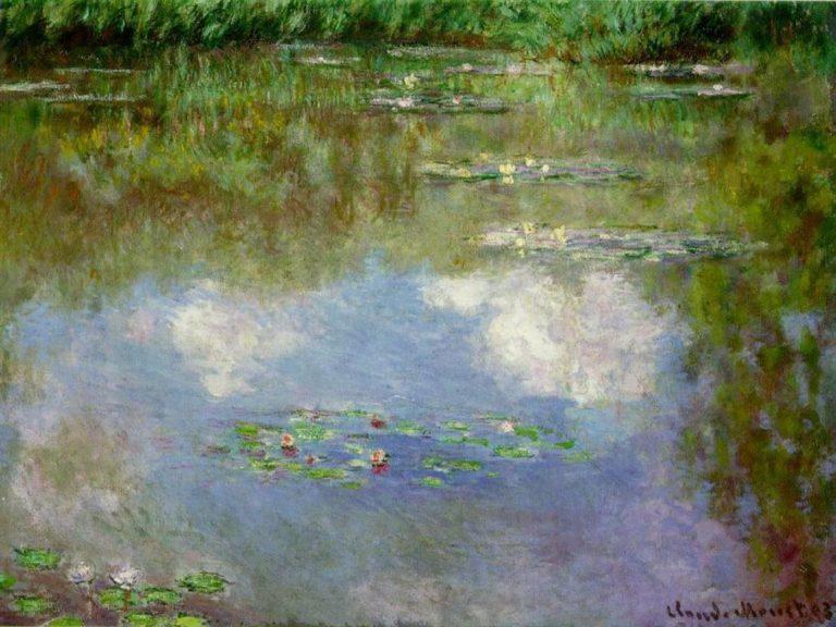 Кувшинки. Облака. 1903