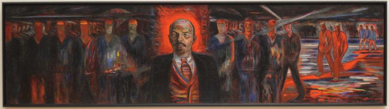 Ленин – вождь пролетариата. 1929