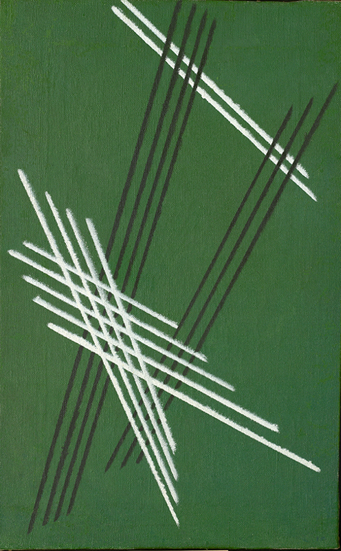 Линии на зелёном. №92. 1919