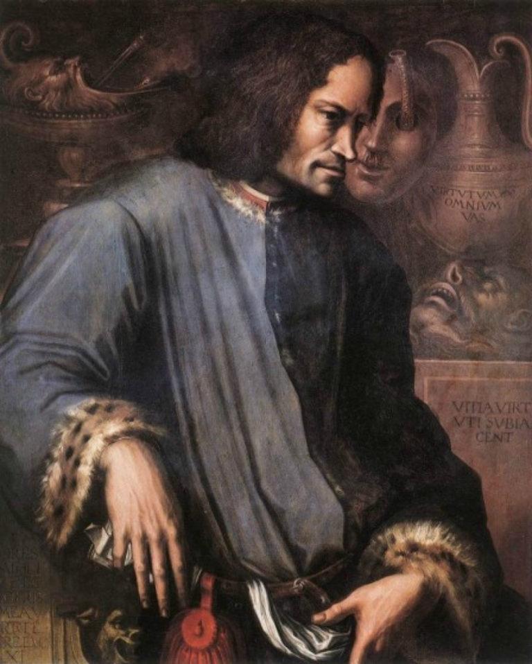 Лоренцо Медичи (итал. Lorenzo de Medici, 1449–1492). Ок. 1533