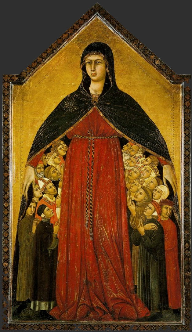 Мадонна Мизерикордия. 1308–1310