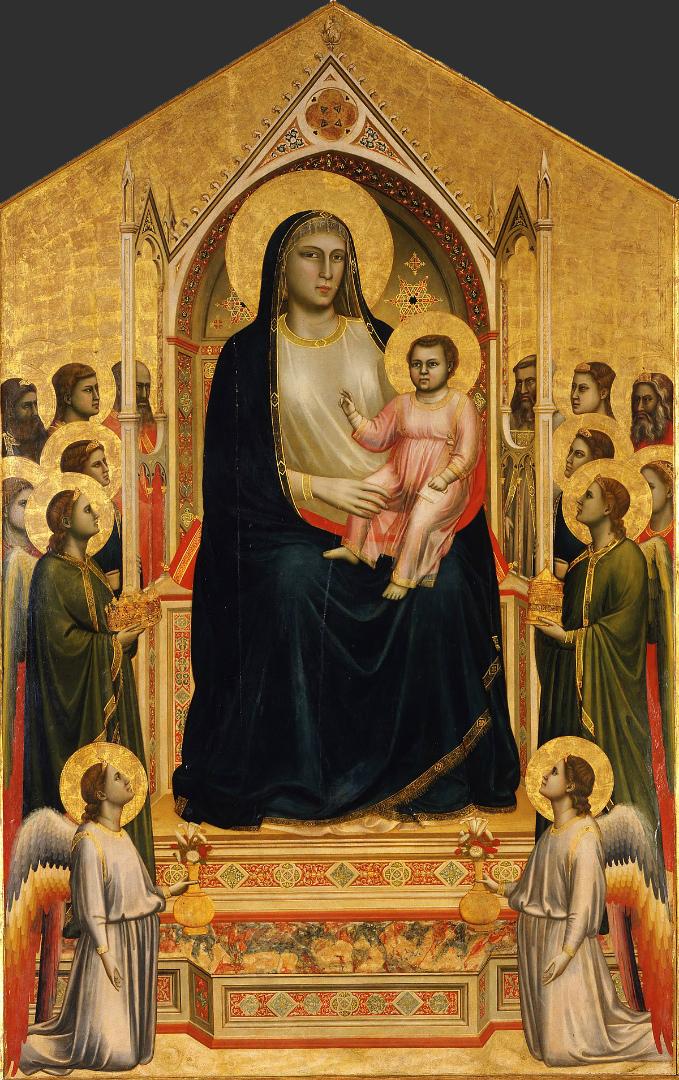 Мадонна Оньисанти. Ок. 1310