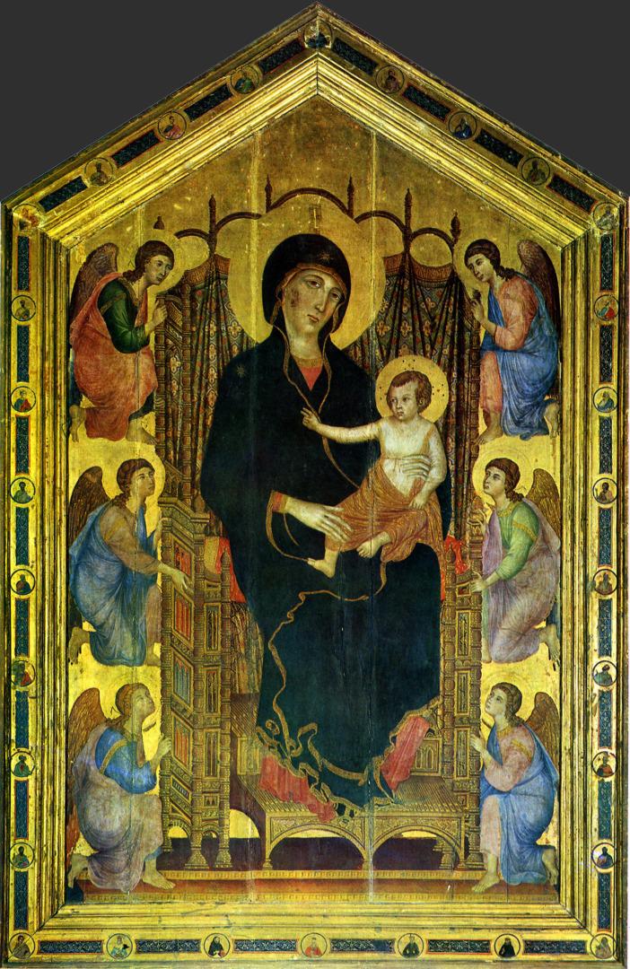 Мадонна Ручеллаи. 1285