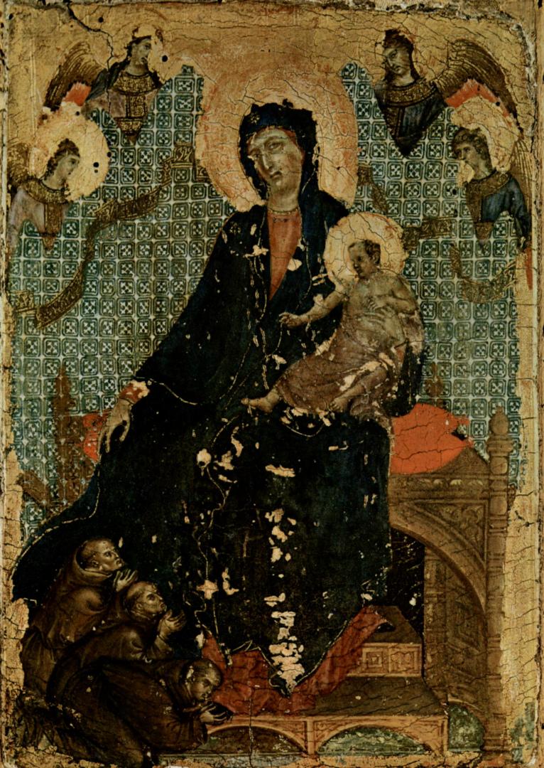 Мадонна францисканцев. Ок. 1300