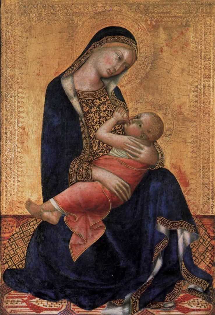 Мадонна с Младенцем. 1340-е