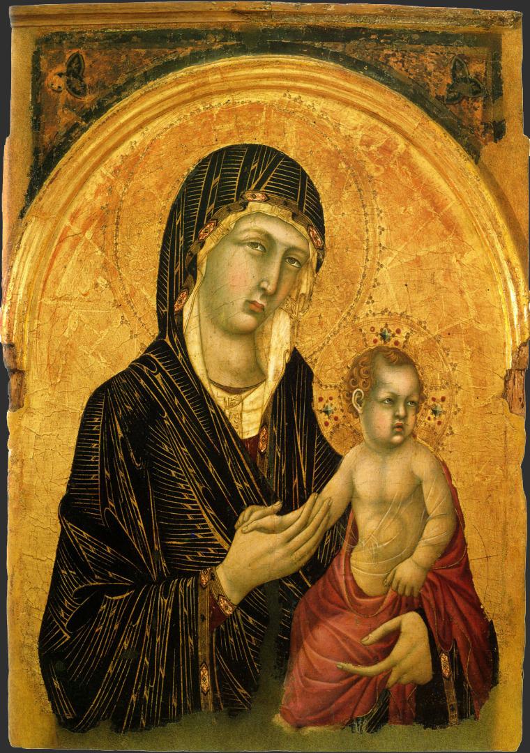 Мадонна с Младенцем. 1305–1310