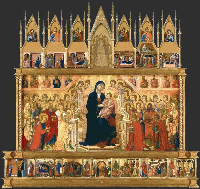 Маэста. 1308–1311