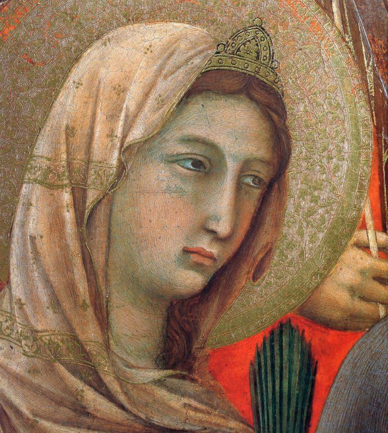 Маэста. Фрагмент. 1308–1311