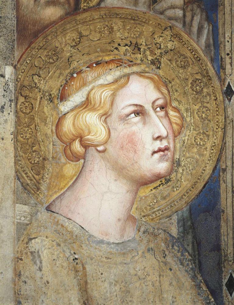 Маэста. Фрагмент. Св. Урсула. 1315