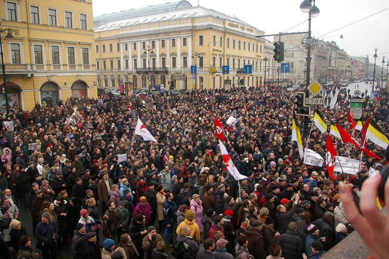 Марш несогласных. Санкт-Петербург, 3 марта 2007