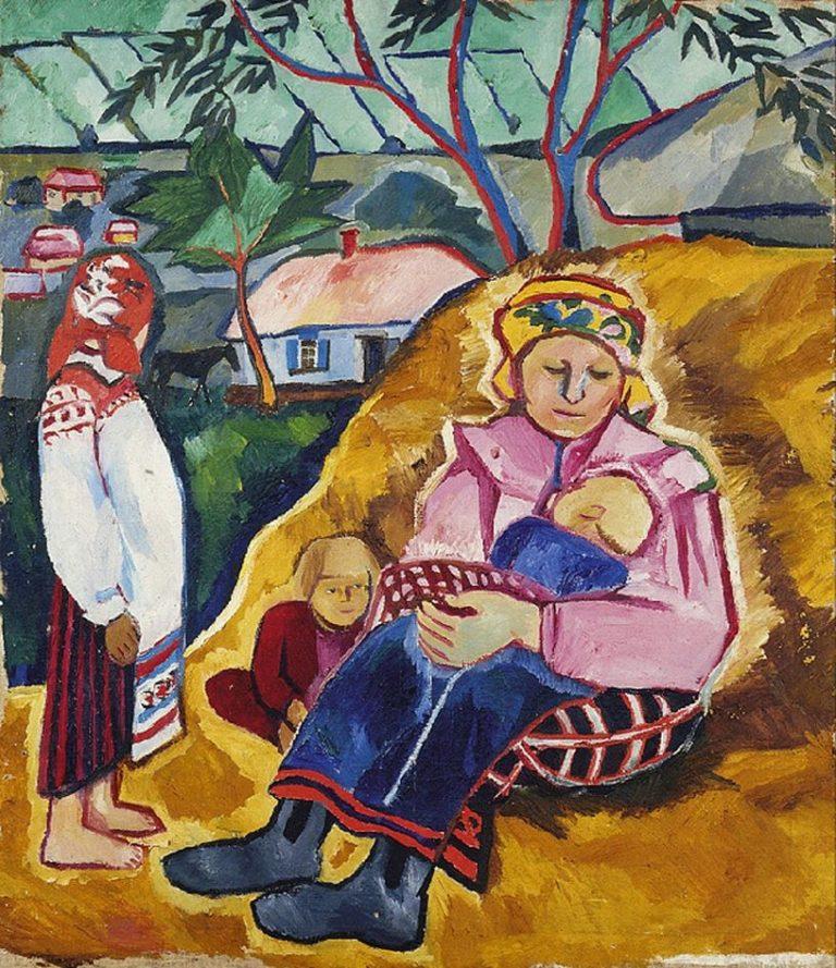 Мать. 1910