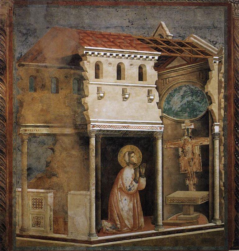 Молитва в Сан Дамиано. Ок. 1296–1304