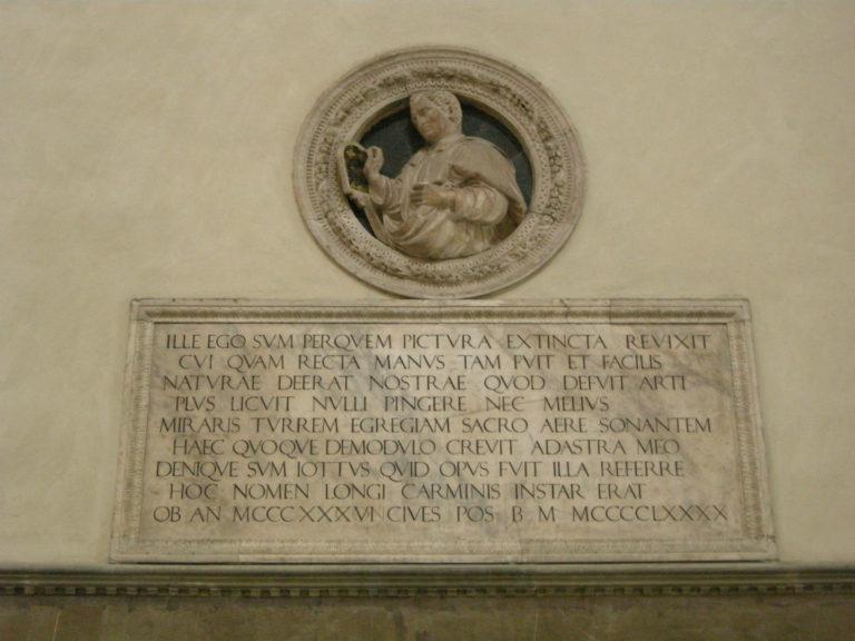 Монумент Джотто. 1490