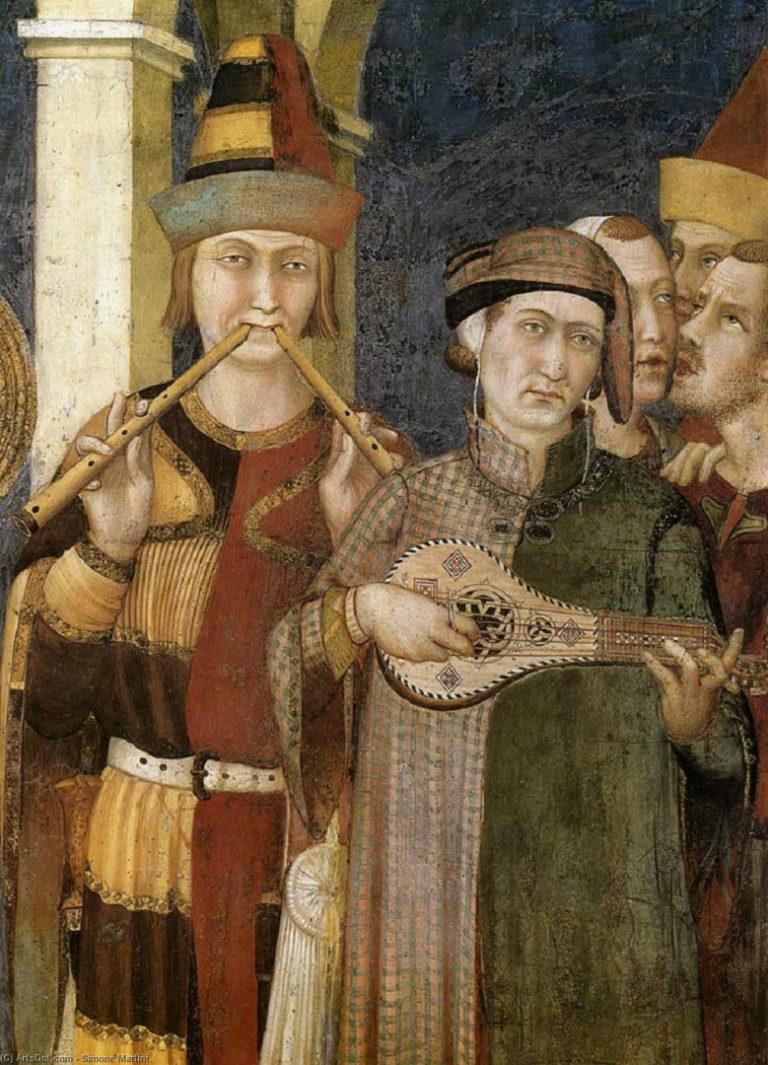 Музыканты. 1313–1318