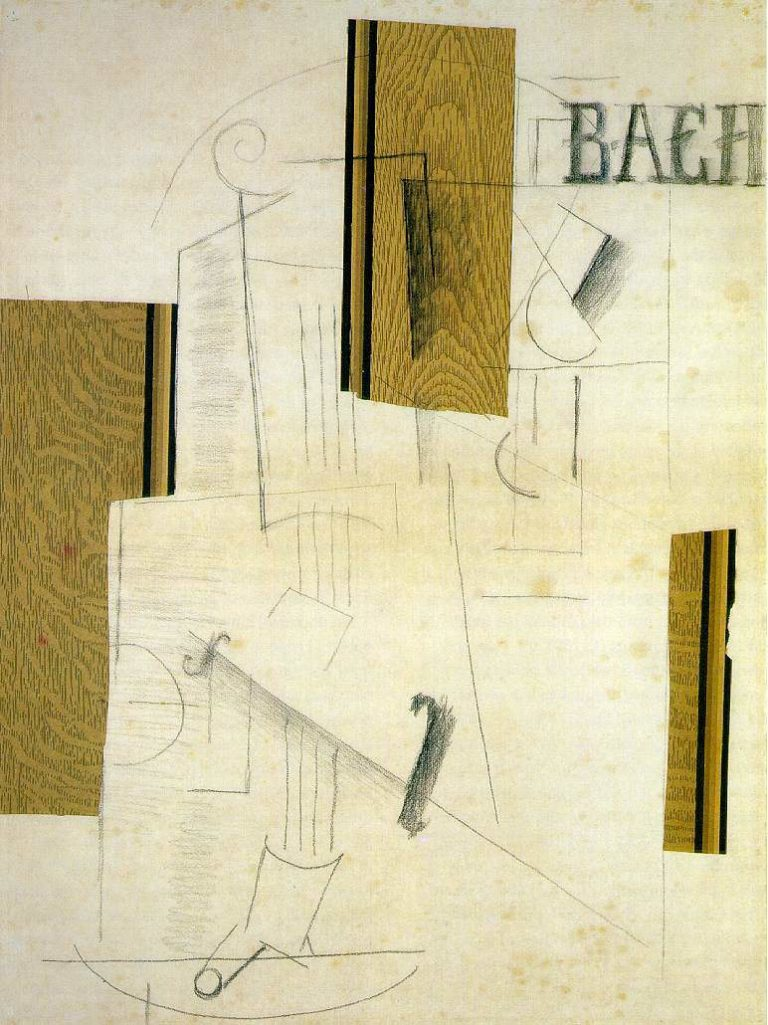 Натюрморт (Бах). 1912