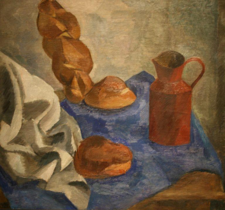 Натюрморт с халой. 1914–1915