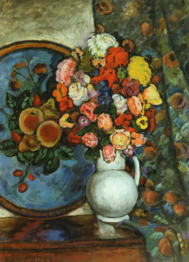 Натюрморт. Цветы в вазе. 1912