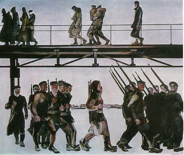 Оборона Петрограда. 1928