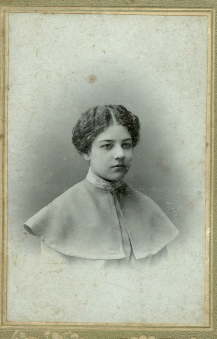 Ольга Владимировна Розанова (1886–1918). 1900
