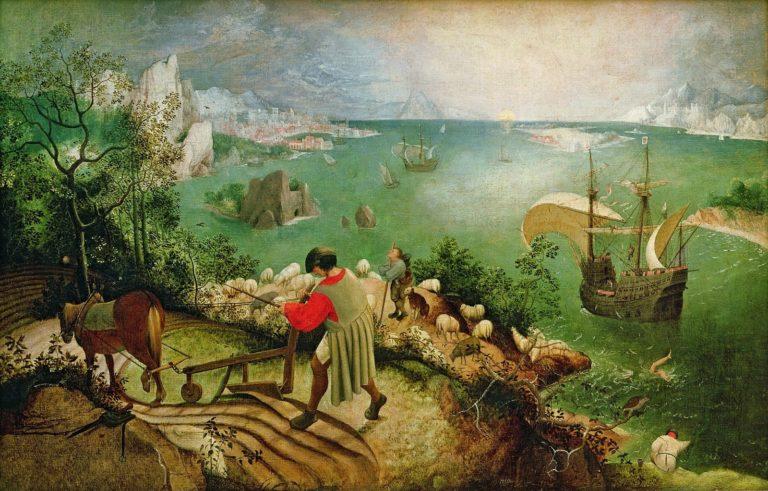 Падение Икара. Ок. 1558
