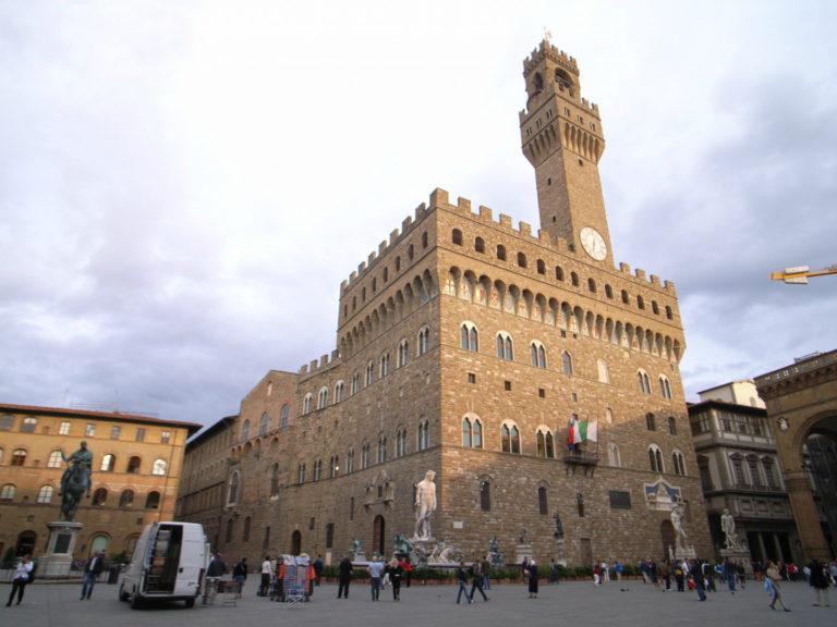 Палаццо Веккьо. XIII–XIV вв. Флоренция