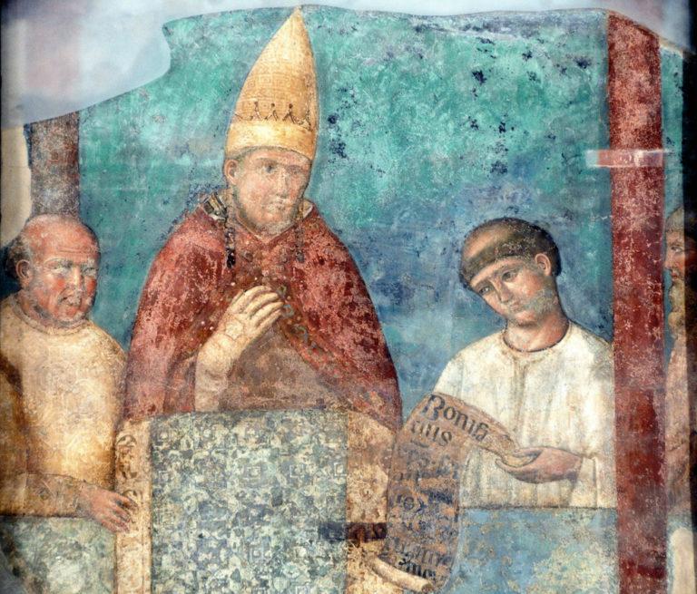 Папа Бонифаций VIII. Ок. 1300