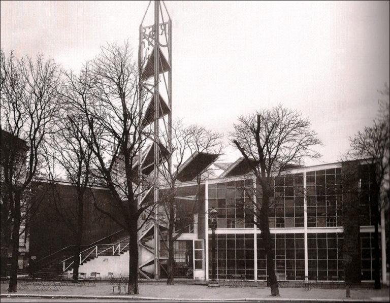 Павильон СССР на Всемирной выставке в Париже. 1925