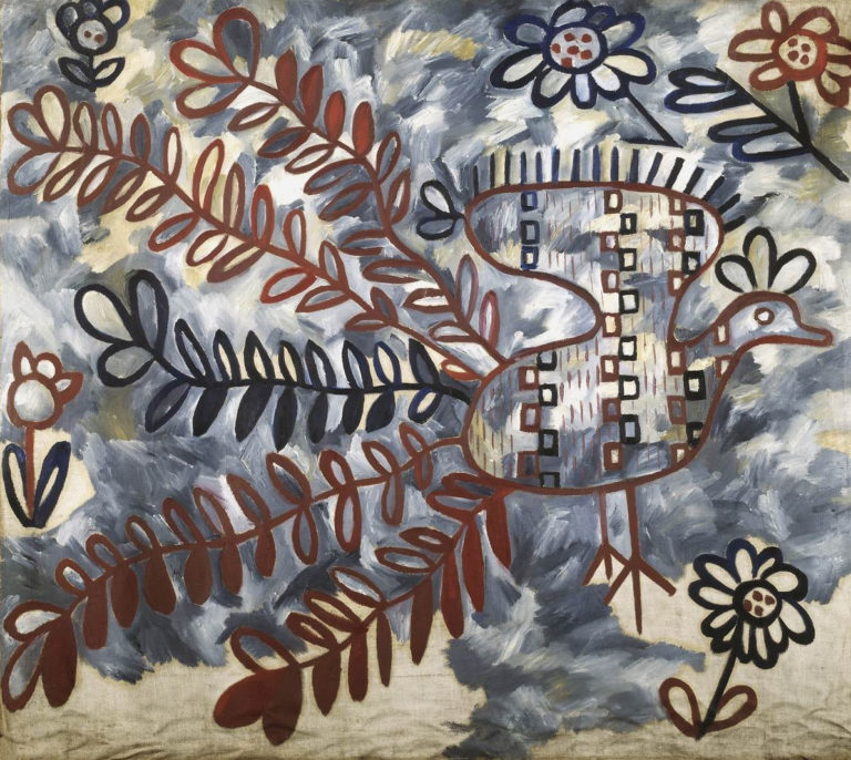 Павлин (стиль украинской вышивки). 1911