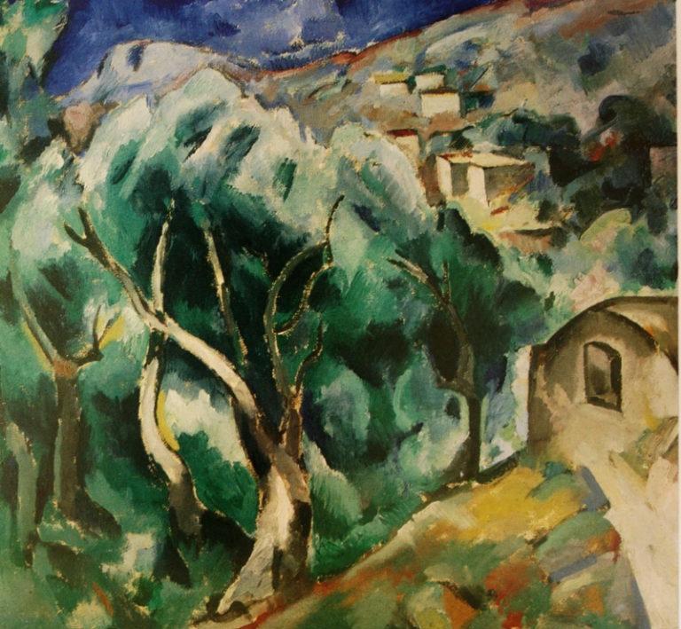 Пейзаж. Ментона. 1914