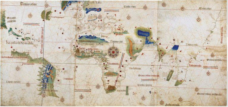 Планисфера Кантино. 1502