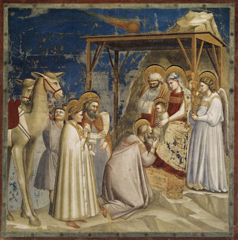 Поклонение волхвов. 1303–1305