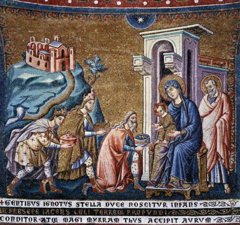 Поклонение волхвов. Ок. 1291