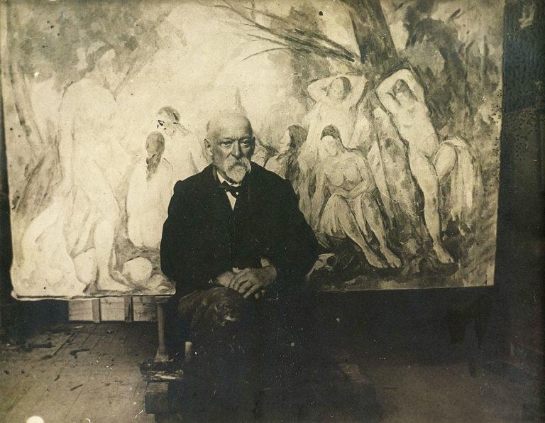 Поль Сезанн (фр. Paul Cézanne, 1839–1906). 1904