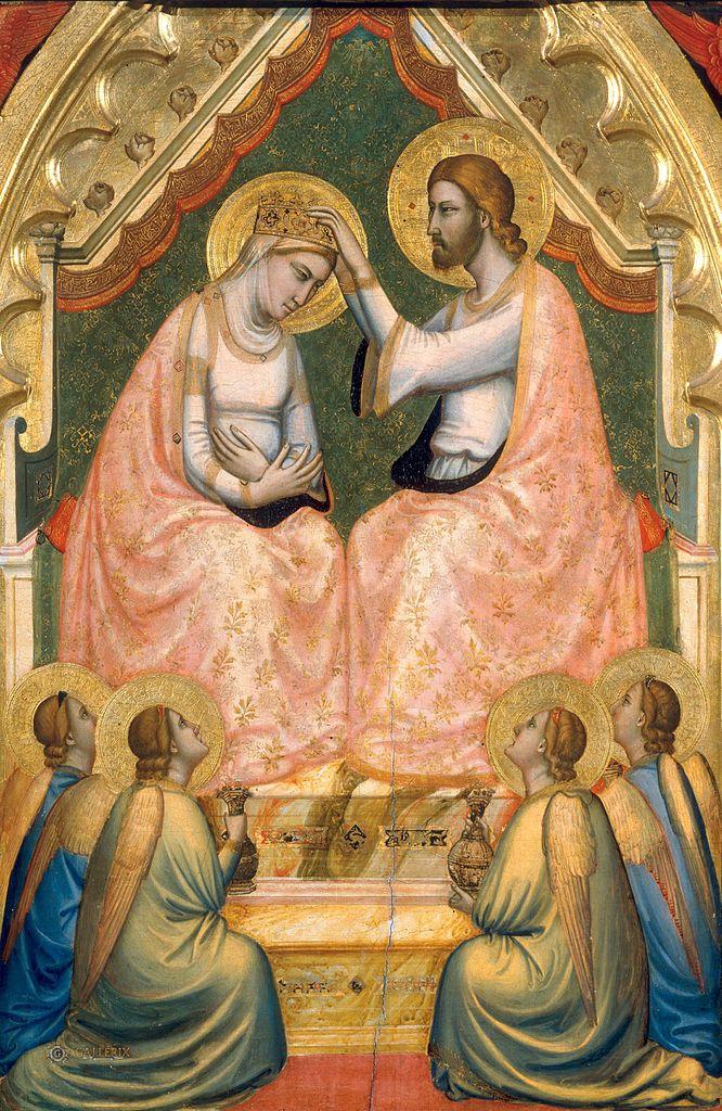 Полиптих Барончелли. Центральная часть. 1328–1334