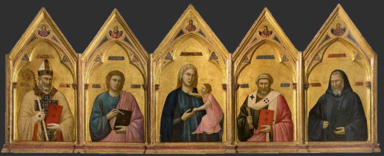 Полиптих из церкви Бадиа. Ок. 1300