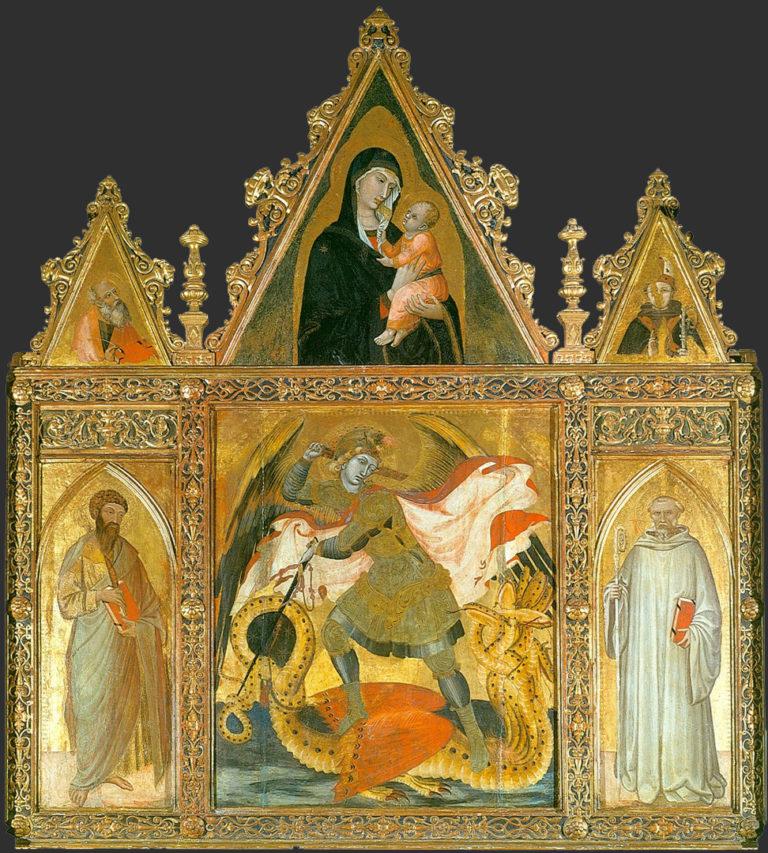 Полиптих св. Михаила. 1330–1335
