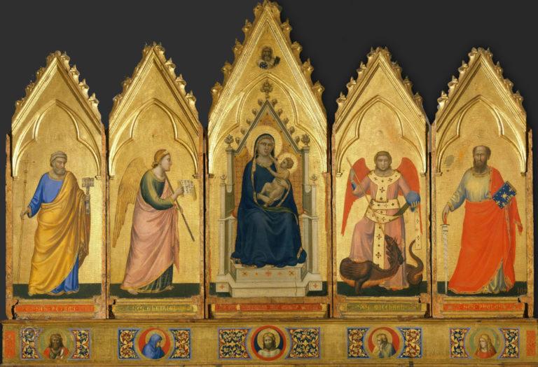 Полиптих. 1330–1335